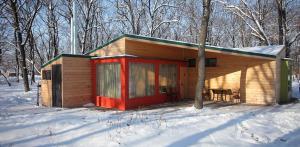 Парк Клуб Дубровский зимой