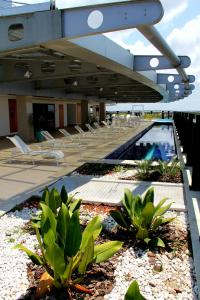 The swimming pool at or close to Intercity Salvador