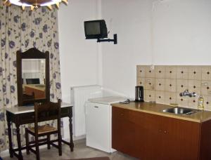 Η κουζίνα ή μικρή κουζίνα στο Κατσαράκη Φωτεινή