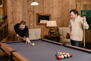 A pool table at Cape Arundel Inn and Resort