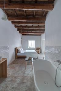 Koupelna v ubytování Mezi plutky