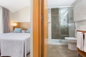 Ein Badezimmer in der Unterkunft Odissea Park