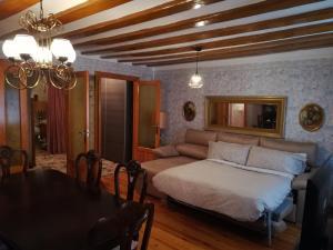 Zona de estar de Alojamiento Santa Engracia Laguardia