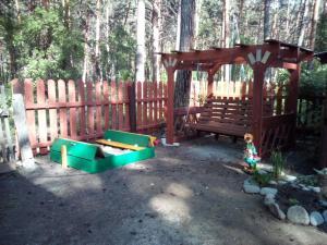 Children's play area at Guesthouse V Sosnovom Boru