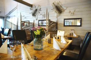 En restaurang eller annat matställe på Sallatunturin Tuvat