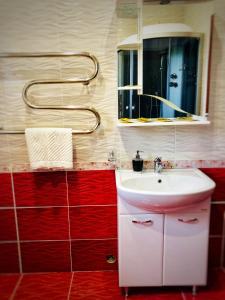 Ванная комната в Гостевой Дом Дарина в Востряково