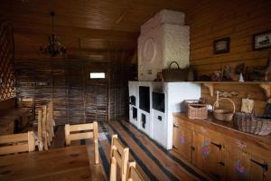 Кухня или мини-кухня в Эко Ферма «Усадьба Кузнецово»