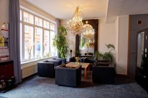 A seating area at Ringhotel Altstadt