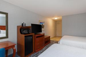 A television and/or entertainment center at Hampton Inn & Suites Clovis