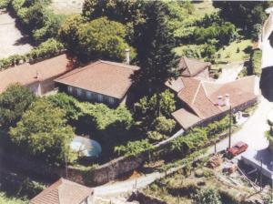 A bird's-eye view of Oliveira Frades Farm
