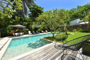 The swimming pool at or near Jamaica Beach House