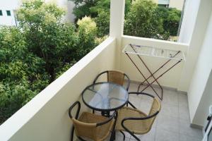 Balkón nebo terasa v ubytování Studio Apartments Marija