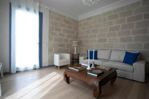 Area soggiorno di Luxury Favignana Villa