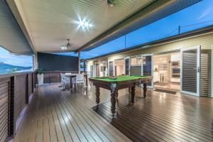 A pool table at Hayman Views