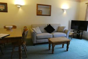 A seating area at The Uplands Apartments
