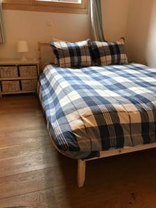 Ein Bett oder Betten in einem Zimmer der Unterkunft Apartment Elin