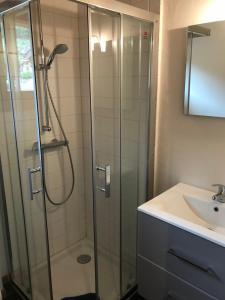 Ein Badezimmer in der Unterkunft Apartment Elin