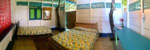 Cama o camas de una habitación en Reserva Viento Solar