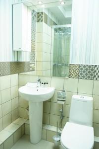 Ванная комната в Отель Бизнес Холл