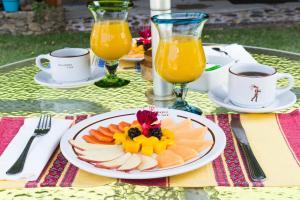 Opciones de desayuno disponibles en Paradise Hotel Boutique & Lounge