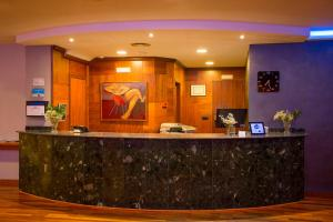 The lobby or reception area at Hotel Borgia
