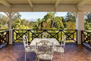 A balcony or terrace at Protea Hotel by Marriott George King George
