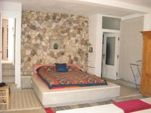 Cama o camas de una habitación en Complejo La Ermita