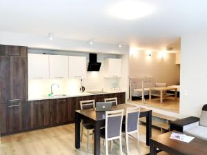 A kitchen or kitchenette at Residence Aparthotel