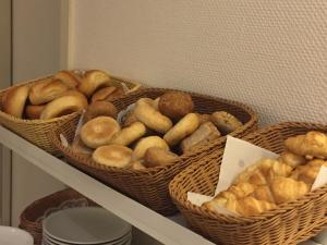 Breakfast options available to guests at Hotel Weidenhof