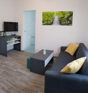 Posezení v ubytování Apartment Prijeboj