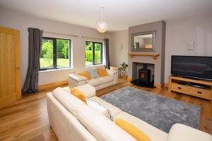 A seating area at Cottage 227 - Oughterard