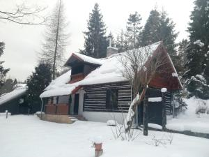 Baby Bear Cottage v zime