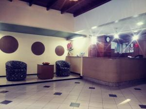 The lobby or reception area at Seamar Hotel