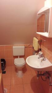 Koupelna v ubytování Guesthouse Andrea