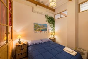 Cama o camas de una habitación en La Divina