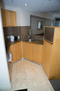 A kitchen or kitchenette at Bond 512