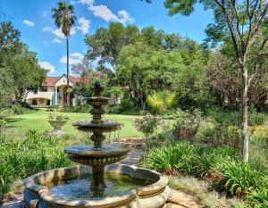A garden outside Ash Manor Guesthouse