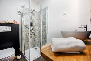 A bathroom at Casa Mulino