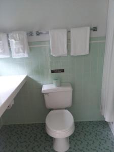 A bathroom at The Chieftain