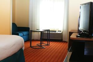 A television and/or entertainment center at Best Western LSU/Medical Corridor Inn & Suites