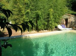 The swimming pool at or near Les Jardins Sigalloux