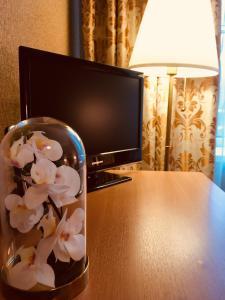 Телевизор и/или развлекательный центр в Отель Звездный