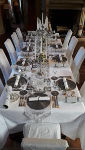 A restaurant or other place to eat at Chateau d'Origny