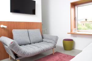Zona de estar de Hotel Bela Fisterra