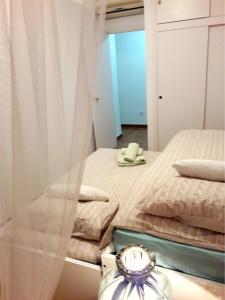 Cama o camas de una habitación en Apartamento Villananitos
