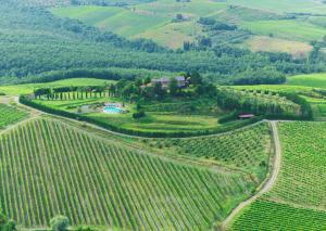 A bird's-eye view of Relais Poggio Del Sogno