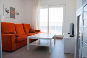 A seating area at Apartamentos Veneziola Golf II