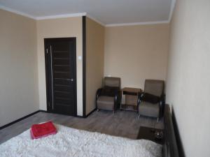 Гостиная зона в Apartment on Leningradskaya 7