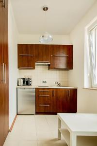 Kuchnia lub aneks kuchenny w obiekcie Apartament Kniaziewicza - Komfortowe Noclegi