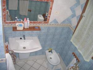 A bathroom at Bella Djerba